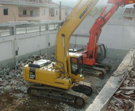 Demolizioni per ristrutturazione Hotel Silana - Urzulei - (NU)