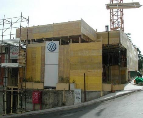Ristrutturazione e ampliamento concessionaria Volkswagen - Nuoro -